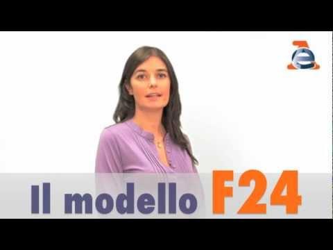 Il modello F24