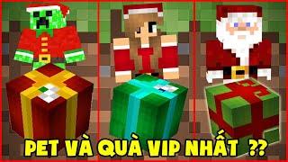 Pet Và Quà Giáng Sinh Vip Nhất Minecraft ??