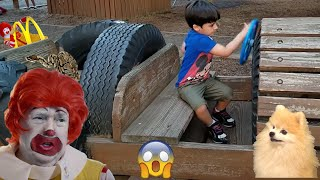 RONALD McDonalds VISITS MCDONALD'S! Kids Pretend play with Jai Bista Show