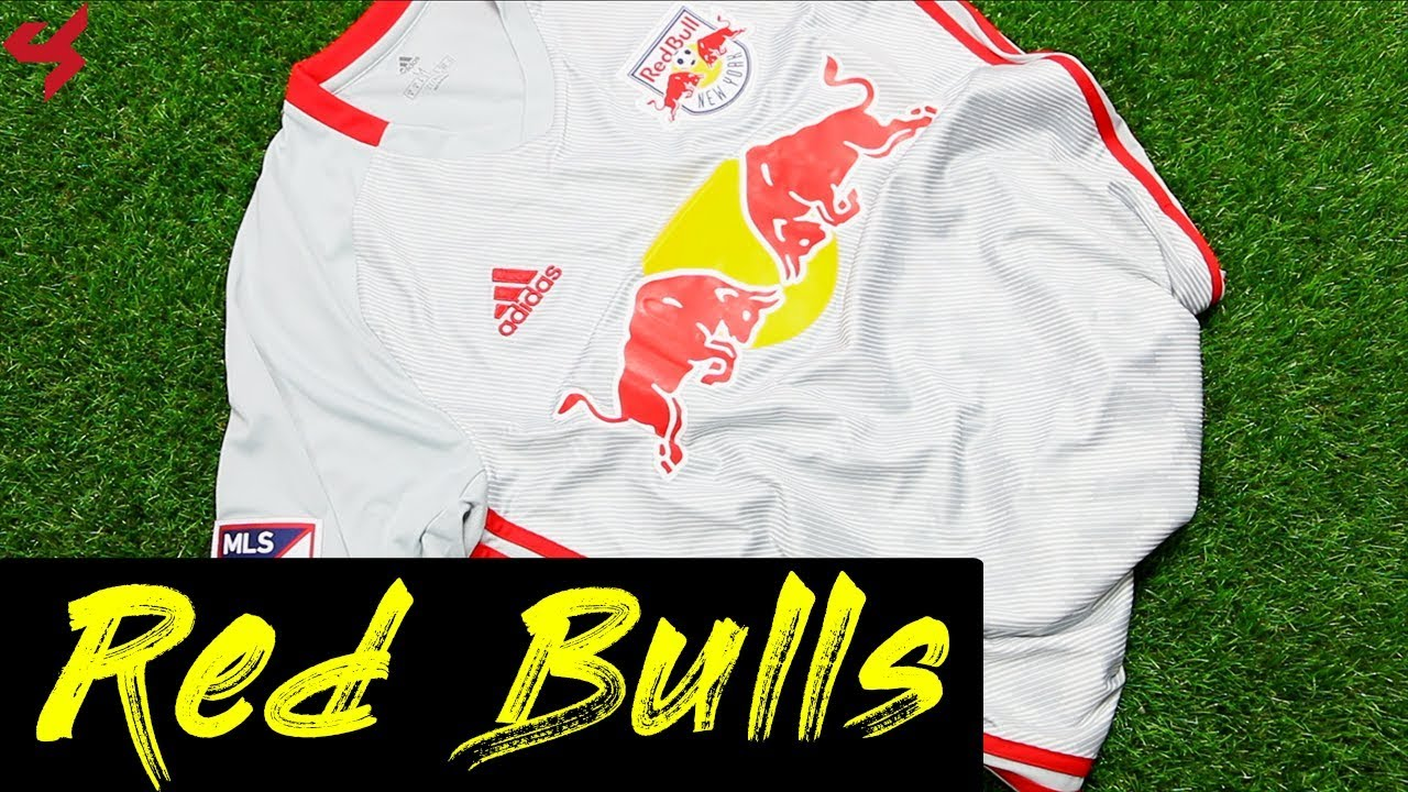 c2f7b577191 Adidas New York Red Bulls 2019 Home Soccer Jersey Unboxing + Review ...