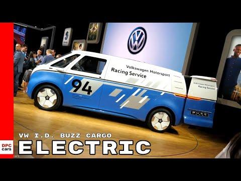 Electric VW I.D. Buzz Cargo Van Concept - Volkswagen