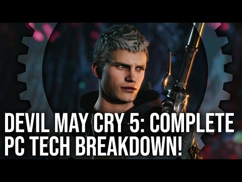 [4K] Devil May Cry 5 PC Tech Analysis + Xbox One X Comparison: Everything You Need to Know! thumbnail