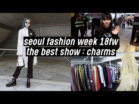 Seoul Fashion Week: Selecting Charms Outfits, Backstage, Meeting Designers 🔥 | DTV #95