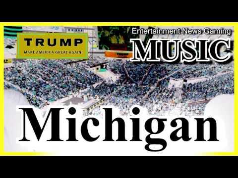 Donald Trump - Michigan Rally [MUSIC] ✔