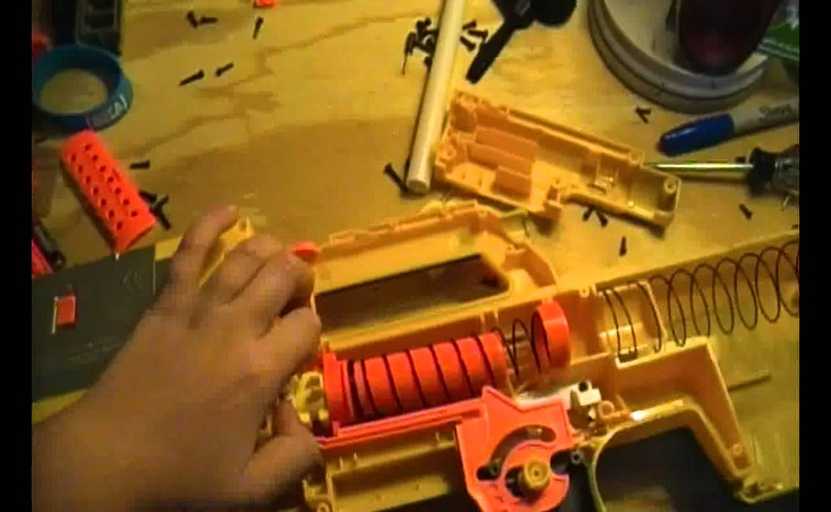 Nerf N Strike Deploy Cs 6 Mod Guide Ar Removal And