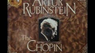 Arthur Rubinstein - Chopin Nocturne Op. 15, No. 2 in F sharp
