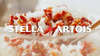 스텔라 아르투아 스텔라홈쿡 표고버섯 초리조 타파스 레시…