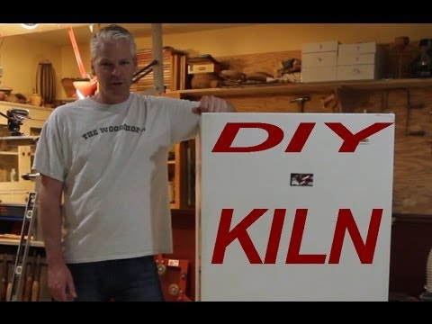 DIY Kiln- Turn An Old Freezer Into A Kiln For Drying Wood