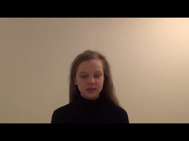 Изображение предпросмотра прочтения – АннаЖуковская читает произведение «Еврейская Мелодия» М.Ю.Лермонтова