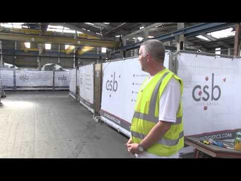 CSB Construction Logistics Company - Jeff's Tour | Warehousing logistics UK