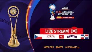 Czech Republic v Dominican Republic – U-23 Baseball World Cup 2018