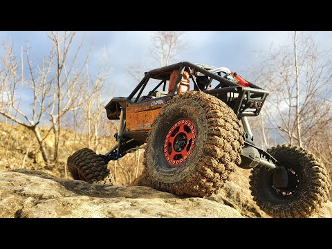 Axial Capra @ Breakheart Quarry With A Bit Of On Board Footage.