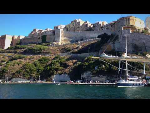 Sailing Into Bonifacio On The French Island Of Corsica (Video 34) - Sailing Britican
