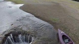 В американском штате Орегон на глазах исчезло целое озеро