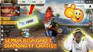 SEMUA PASTI DAPET DIAMOND FREE FIRE GRATIS!! WAJIB COBA BUKAN CLICK BAIT!!