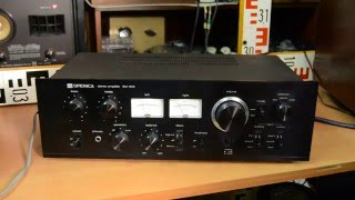 SHARP OPTONICA SM 1616HB Stereo Amplifier