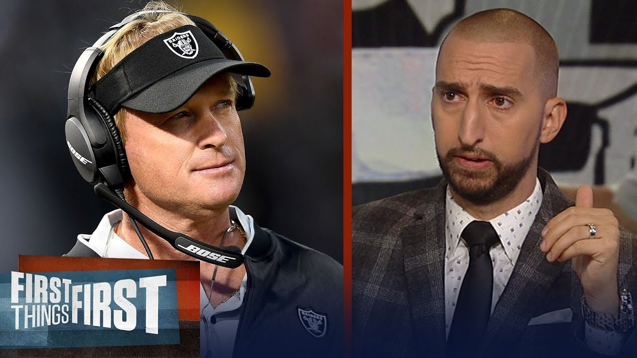 nick-and-cris-react-to-jon-gruden-s-comments-about-khalil-mack-nfl-first-things-first