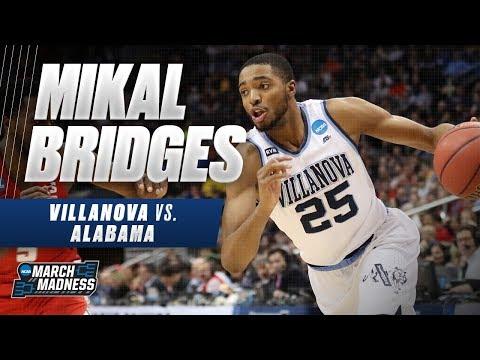 Mikal Bridges shines in Villanovas win over Alabama