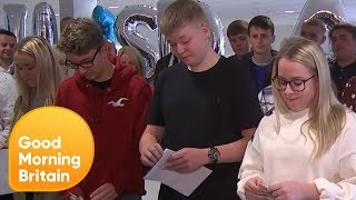 Students Open Their GCSE Results Live on Air! | Good Morning Britain