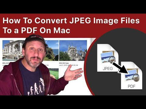 How To Convert JPEG To PDF On Mac