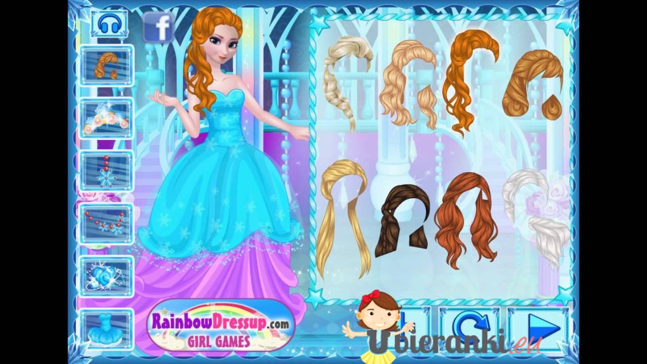 09fd37bf8ef380 Elsa | Kraina Lodu | Anna | Frozen | Gry dla dziewczyn | Ubieranki! -  YouTube