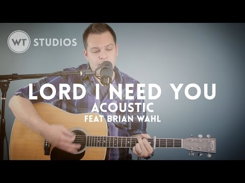 Lord I Need You (feat. Brian Wahl) - acoustic - mp3, multitrack available