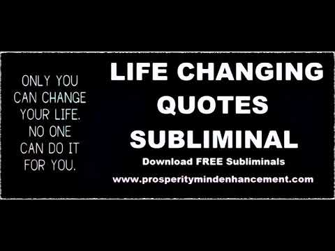 Audio Quotes About Life Fascinating Positive Life Quotes  Subliminal Affirmations Audio  Youtube