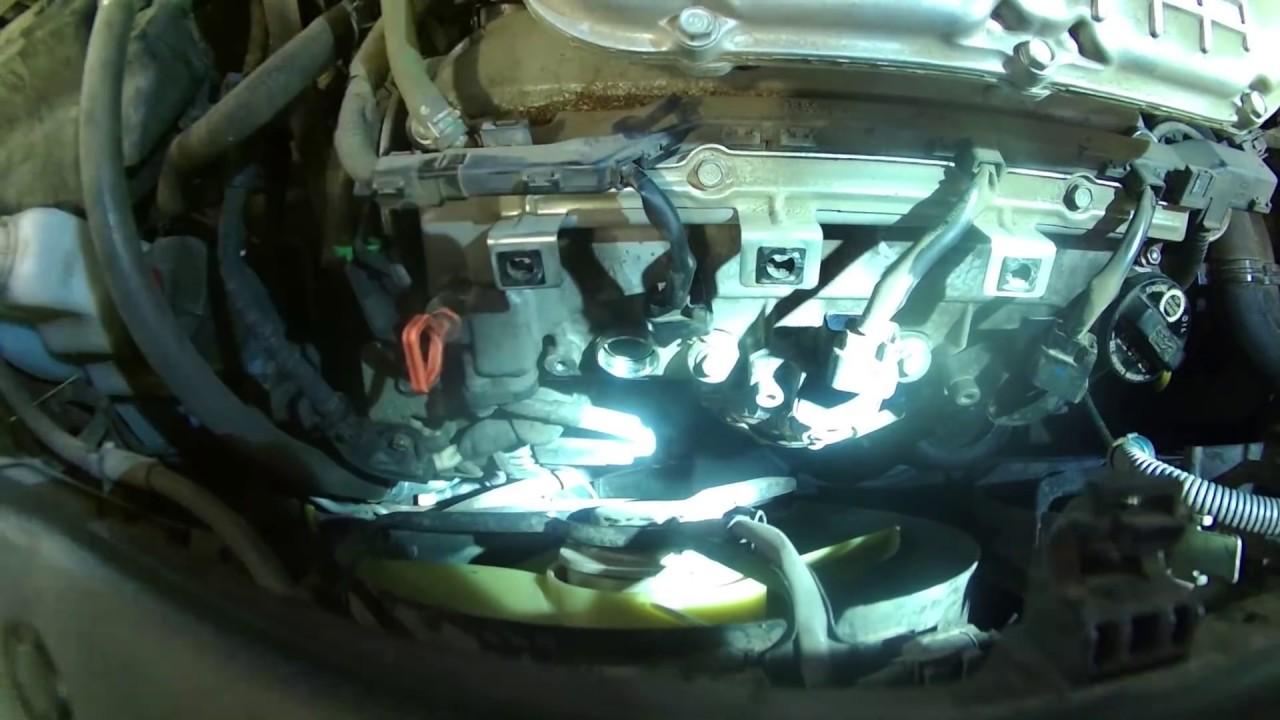 Spark plug replacement 2006 Honda Pilot 3.4L V6 install remove ...