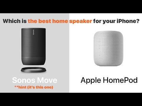 Is Sonos Move the best speaker for the iPhone?