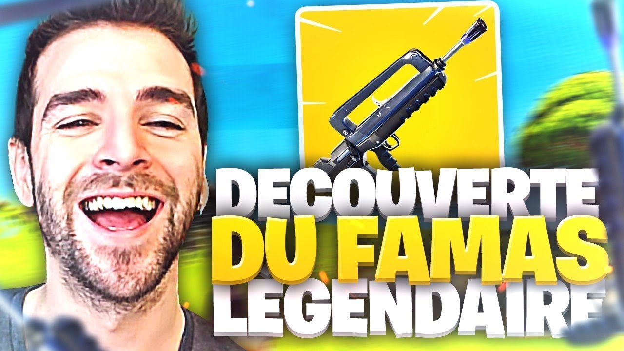 BEST OF🔥WTF LE NOUVEAU FAMAS DE FORTNITE  !► Top1 Battle Royale