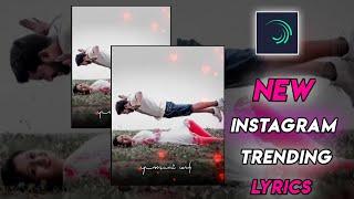Instagram Trending Status Video   Alight Motion Editing Tutorial  
