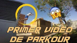 PRIMER VÍDEO DE PARKOUR|ENTRENANDO CON MUCHO POWER¡¡¡
