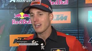 Red Bull KTM Factory Team on the SHARK Helmets Grand Prix de France