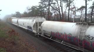 New York & Atlantic Railway- Holbrook NY- April 4, 2017