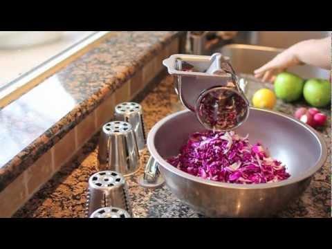 Salad Master Demonstration - Shredded Cabbage Salad Plus!