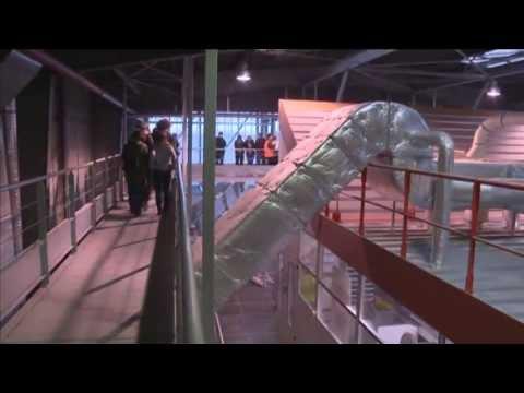 Vidéo de responsable de site de traitement des déchets