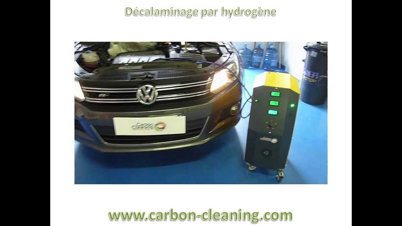 d calaminage tiguan 2l tdi avec carbon cleaning fap egr moteur youtube. Black Bedroom Furniture Sets. Home Design Ideas