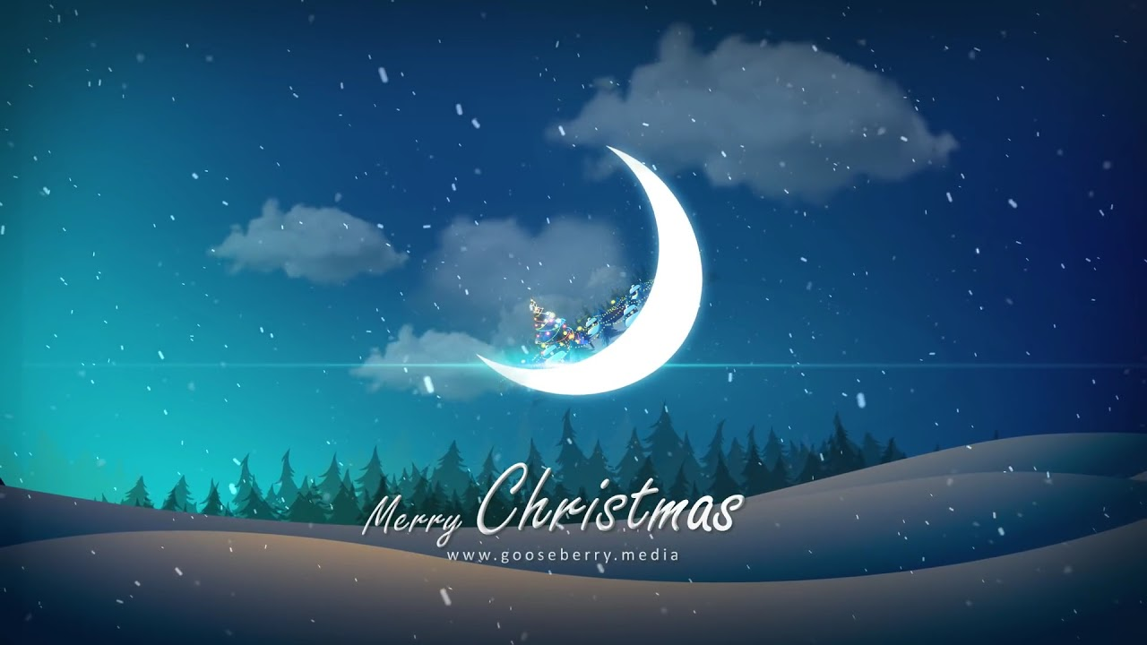 Merry XMAS Greetings Short Video   Animated Happy Christmas Wishes with Jingle Bells for WhatsApp