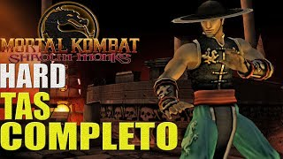 Mortal Kombat Shaolin Monks (HARD) - KUNG LAO (PS2)【TAS】