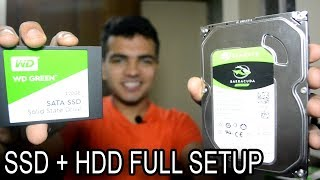 Installing Windows To SSD | HDD + SSD Install Together Full Setup ! Making Computer Extremely Fast