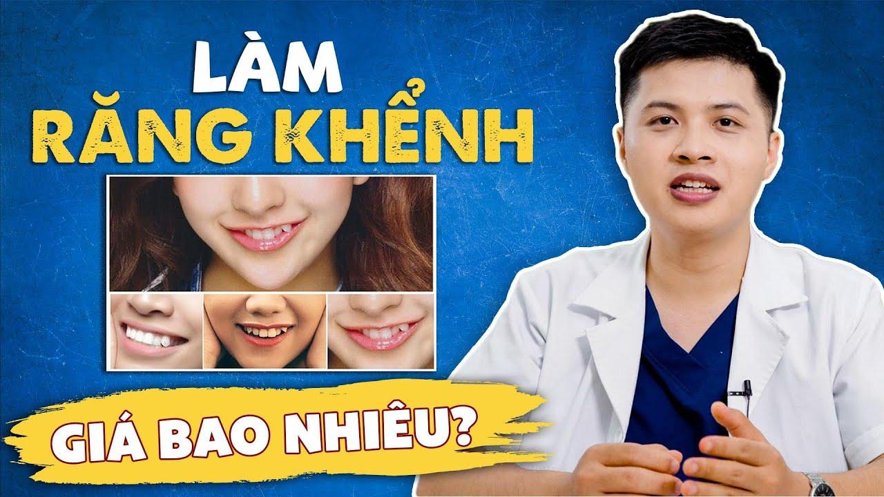 Trồng răng khểnh thế nào, có đau không    bảng giá trồng răng khểnh 2020