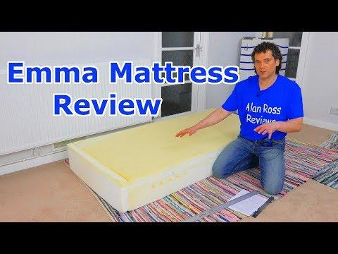 Emma Hybrid Mattress Review - UK foam mattress 2018  - Simba alternative