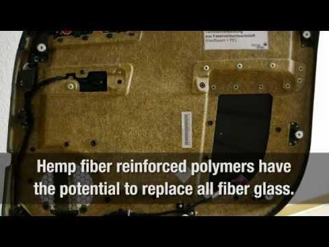Hemp Fiber Composites: Building Material of the Future!