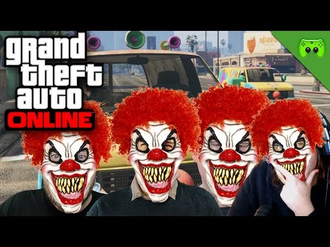 TODES CLOWNS 🎮 Grand Theft Auto Online #121