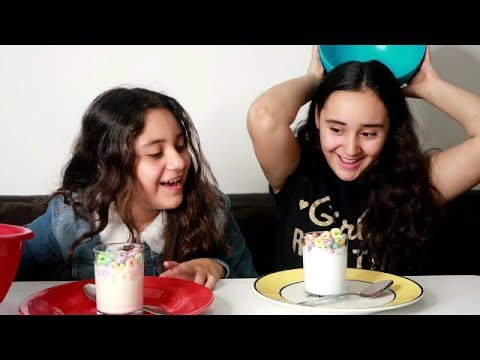 🍨 Real Food VS Slime Food Challenge 🍩 Reto Slime VS Comida Real Momentos divertidos