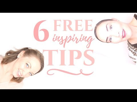 6 FREE TIPS TO LIVE AN INSPIRED LIFE   MOTIVATION
