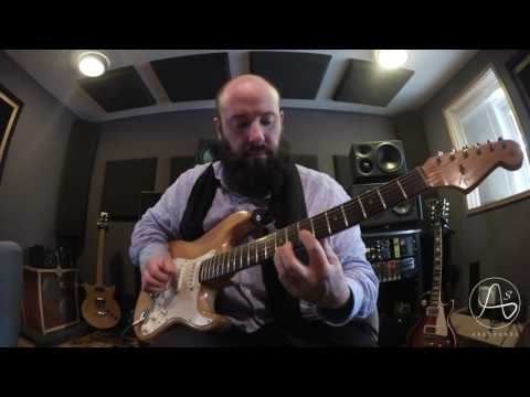 Anasounds Bitoun Fuzz - démo sur la Stratocaster 1963 de Gary Moore