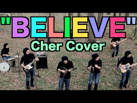 "I ran around my backyard like a maniac to make this instrumental loop cover of Cher's ""Believe"""