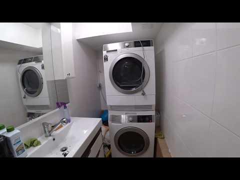 Как установить сушку на стиральную машину