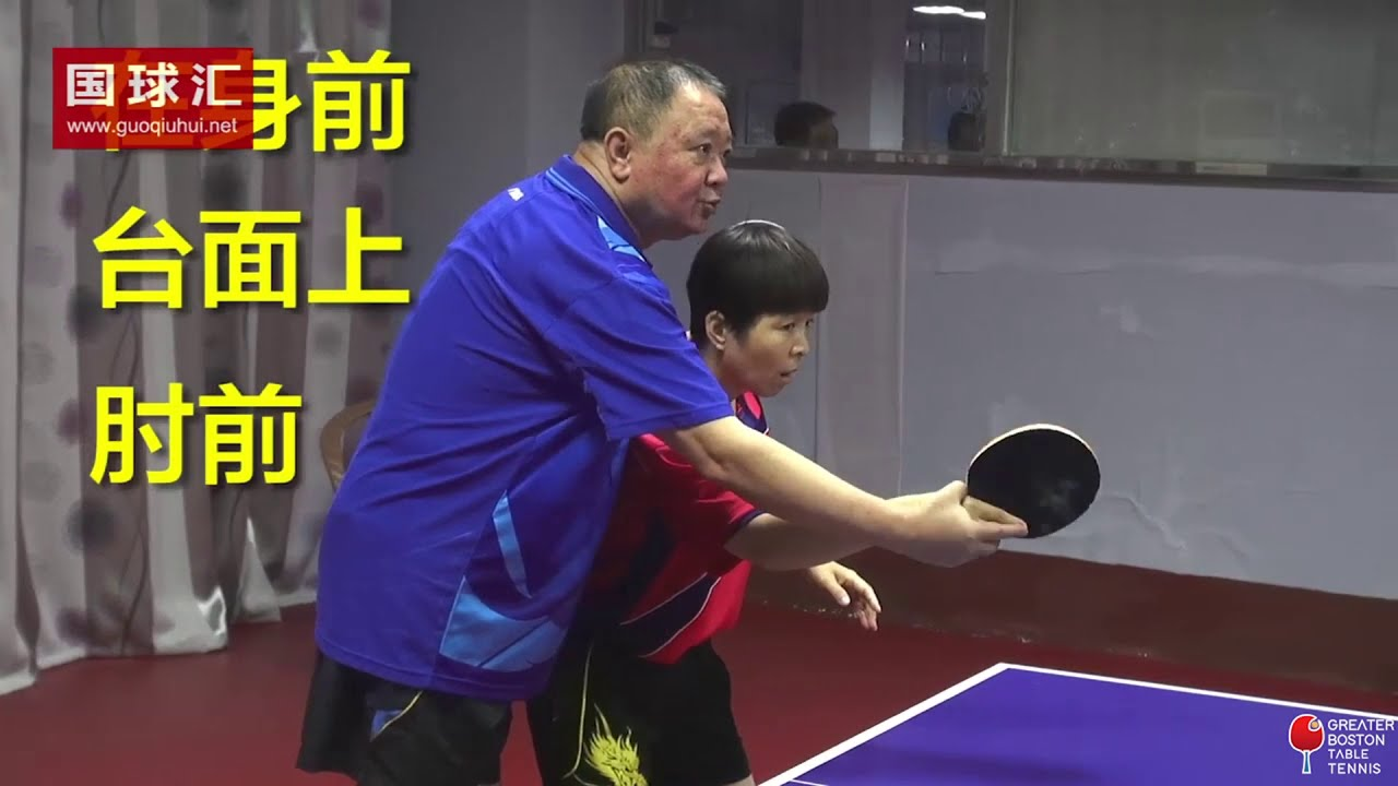 Forehand and backhand switch